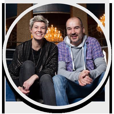 Silke Schranz und Christian Wuestenberg