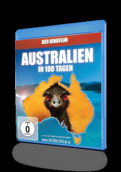 Australien in 100 Tagen, eine DVD von Silke Schranz und Christian Wüstenberg