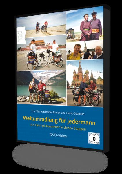 Weltumradlung für jedermann - Ein Fahrrad-Abenteuer in sieben Etappen, ein Film von Rainer Kaden und Heiko Standke