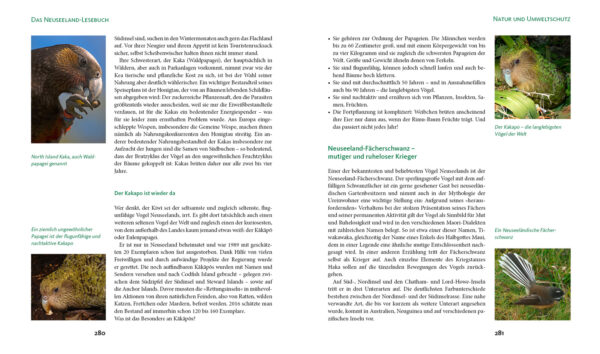 Neuseeland-Lesebuch - Heyse - Blick ins Buch 6