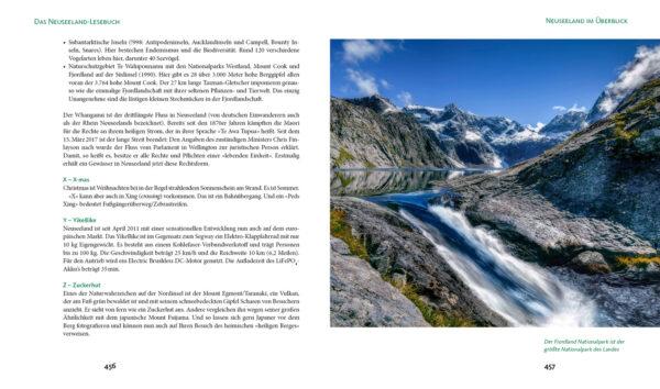 Neuseeland-Lesebuch - Heyse - Blick ins Buch 9