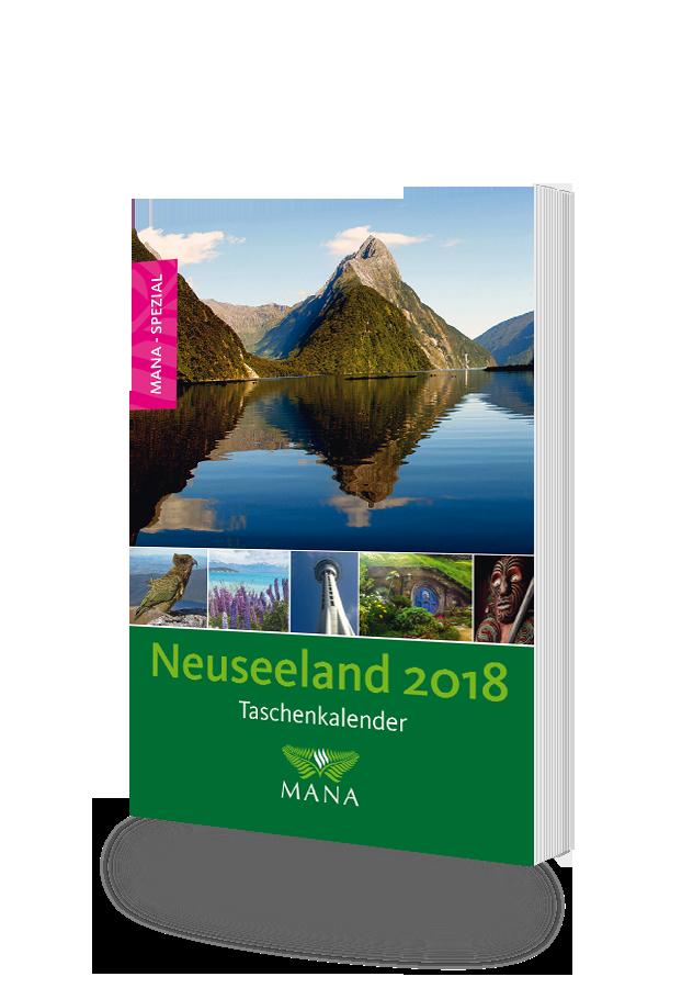 Taschenkalender-Neuseeland 2018