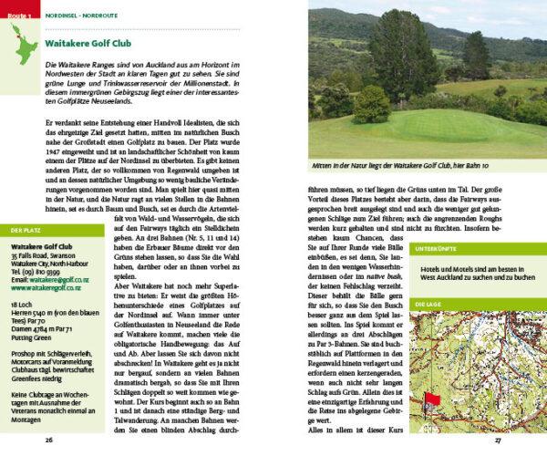 Golfen in Neuseeland von Rolf W. Brednich und Max Bönisch
