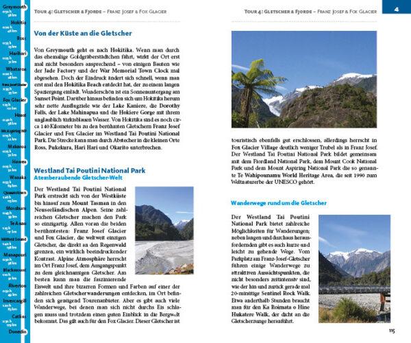Neuseeland-Tourenplaner von Christiane Cohnen