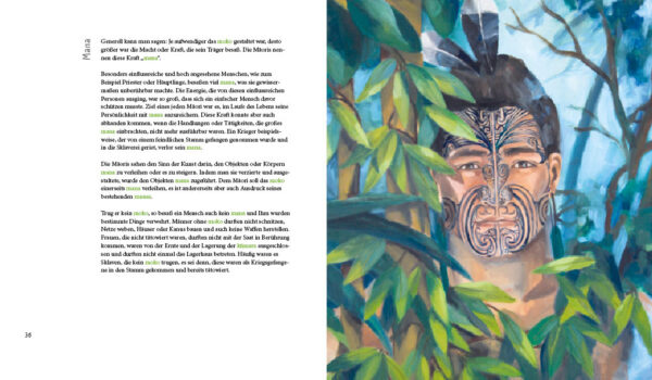 MOKO – Tattoo der Maoris von Mirja Loth