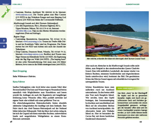 Outdoor & Action in Neuseeland von Susanna Bloß