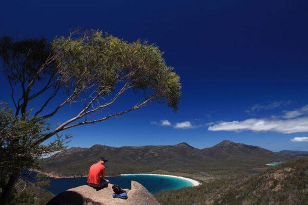 Australien in 100 Tagen, Wineglass Bay, Freycinet National Park, eine DVD von Silke Schranz und Christian Wüstenberg