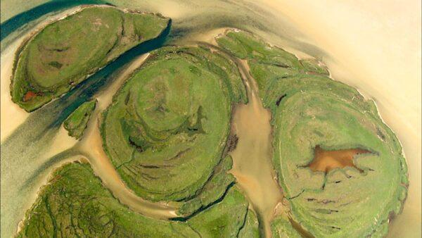 Die Ostsee von Oben, Kleine Werder, ein Film von Silke Schranz und Christian Wüstenberg