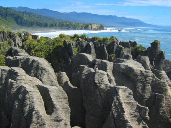 Neuseeland auf eigene Faust, Pancake Rocks, ein Film von Silke Schranz und Christian Wüstenberg