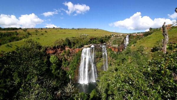 Südafrika, Panorama Route, Lisbon Falls, ein Film von Silke Schranz und Christian Wüstenberg
