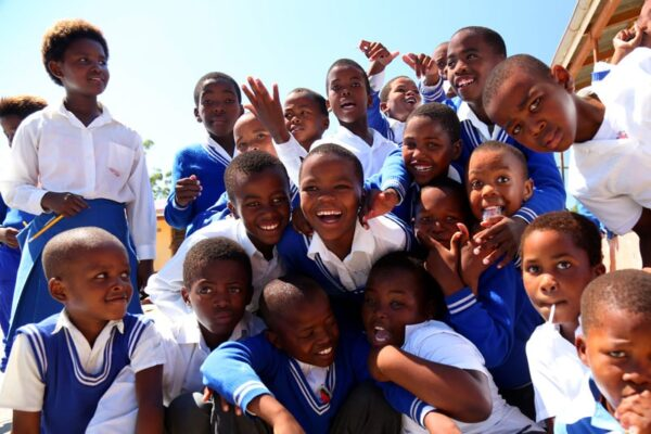 Südafrika,Schüler in Nelson Mandelas Grundschule, Blyde River Canyon, ein Film von Silke Schranz und Christian Wüstenberg