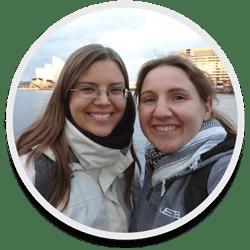 Katharina Arlt und Melanie Schmidt
