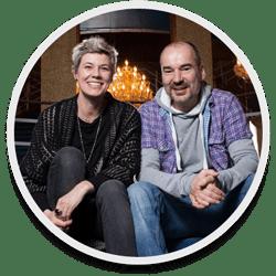 Silke Schranz und Christian Wüstenberg