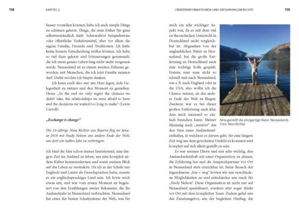 Abenteuer High School - Blick ins Buch