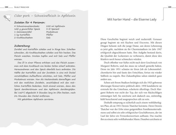 Das England-Lesebuch von Almut Irmscher, Blick ins Buch