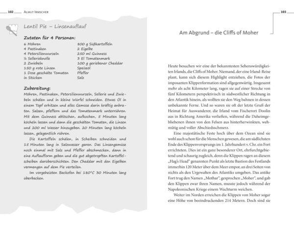 Das Irland-Lesebuch von Almut Irmscher, Blick ins Buch