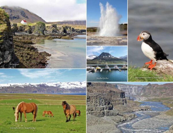Das Island-Lesebuch von Almut Irmscher, Blick ins Buch