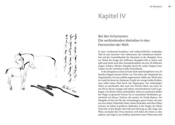 Fremde Mongolei von Bernhard Wulff, Blick ins Buch