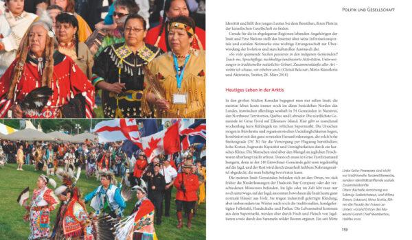 Kanada, ein Länderporträt von Mechtild und Wolfgang Opel, Blick ins Buch