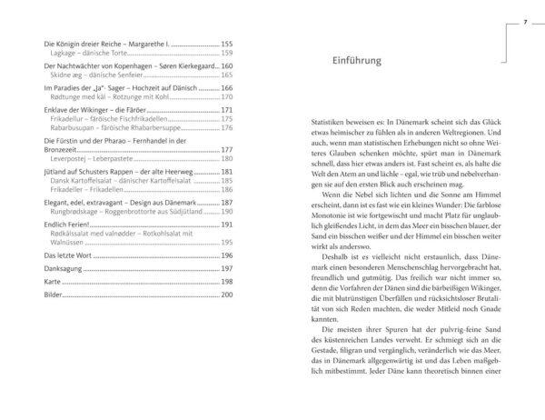 Das Dänemark-Lesebuch von Almut Irmscher, Blick ins Buch
