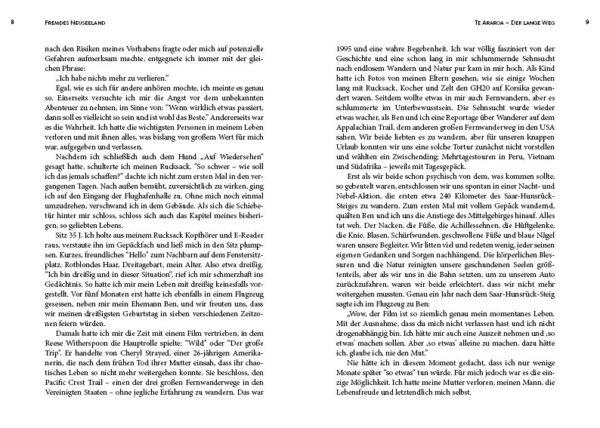 Fremdes Neuseeland, Te Araroa - Der lange Weg, ein Buch von Ann Kathrin Saul